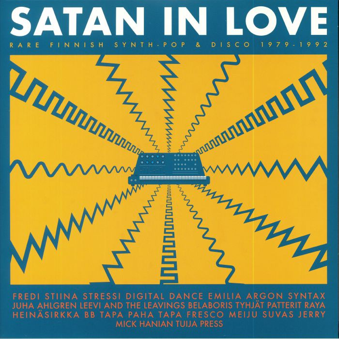 VARIOUS - Satan In Love: Rare Finnish Synth Pop & Disco 1979-1992