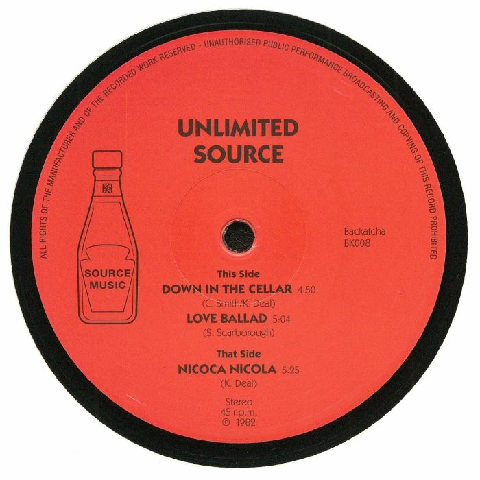 UNLIMITED SOURCE - Down In The Cellar