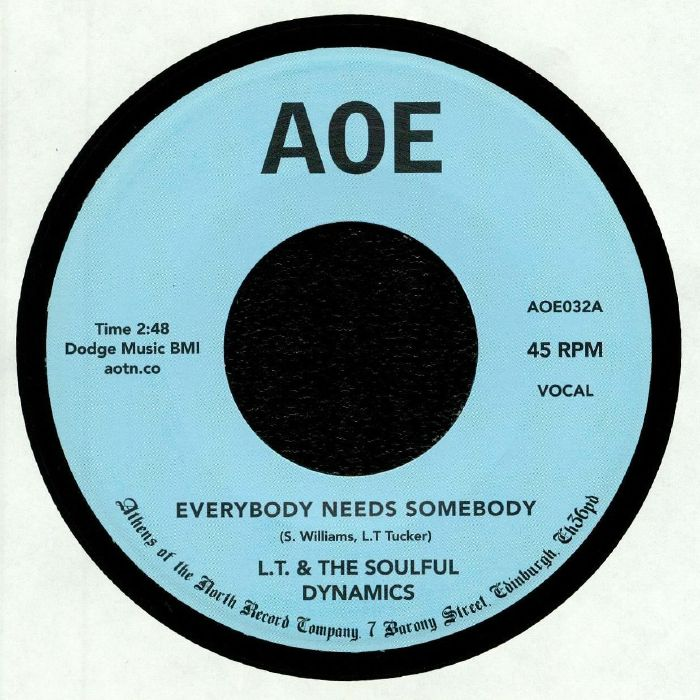 LT & THE SOULFUL DYNAMICS - Everyone Needs Somebody