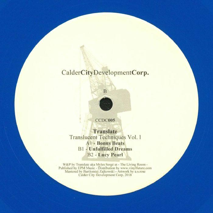 TRANSLATE - Translucent Techniques Vol 1
