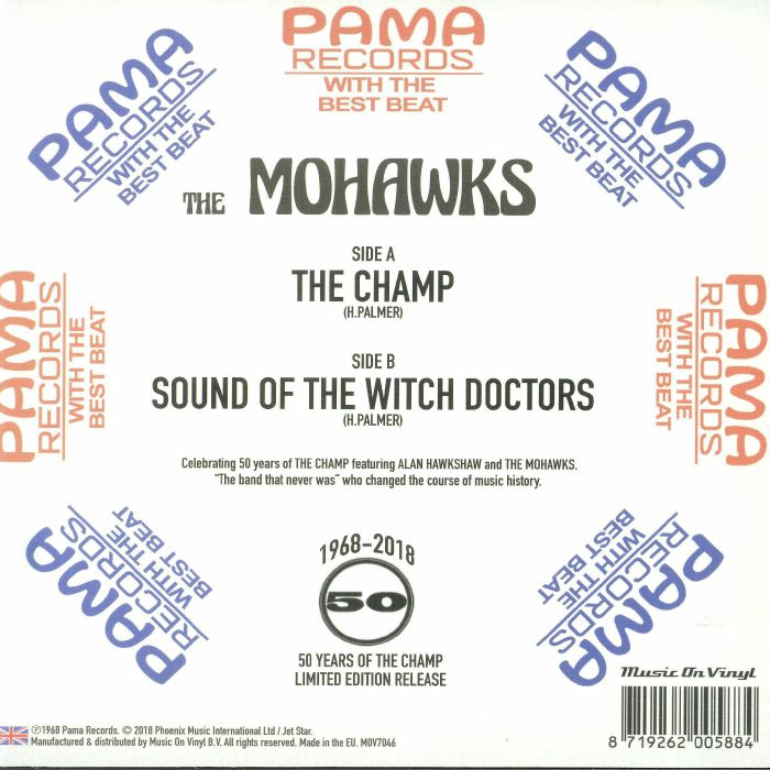 MOHAWKS, The - The Champ (Record Store Day 2018)