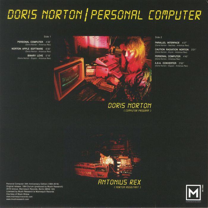NORTON, Doris - Personal Computer (Record Store Day 2018)