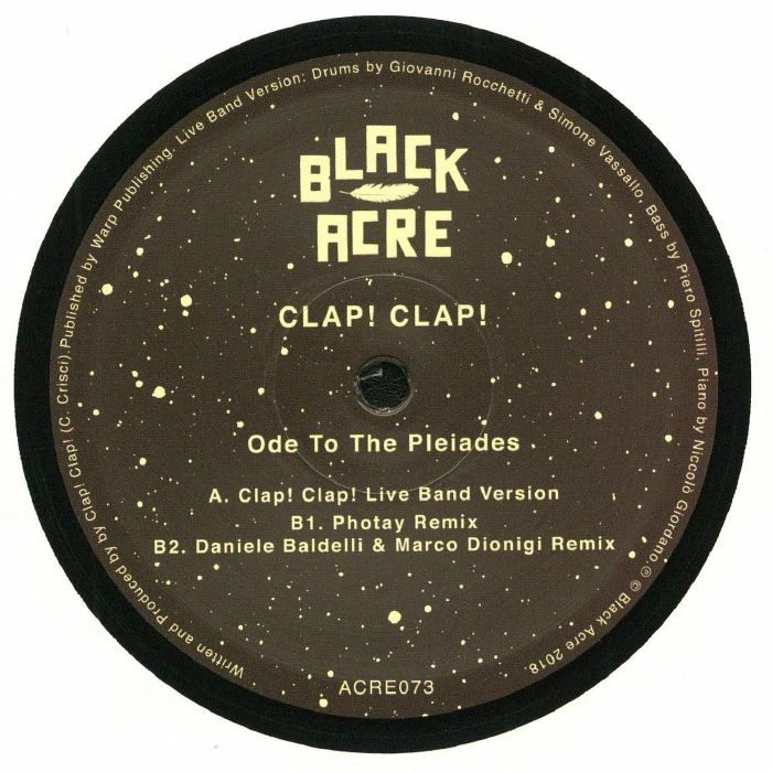 CLAP! CLAP! - Ode To The Pleiades
