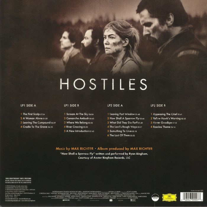 RICHTER, Max - Hostiles (Soundtrack)