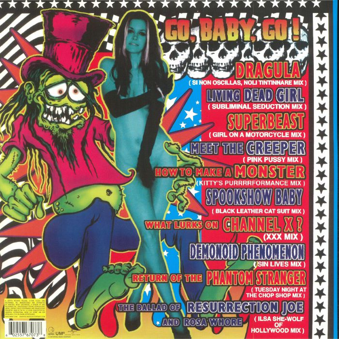 ROB ZOMBIE - American Made Music To Strip By (reissue)