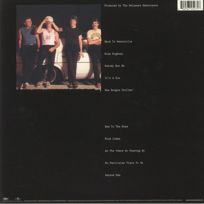 THOROGOOD, George/THE DESTROYERS - Bad To The Bone (reissue)