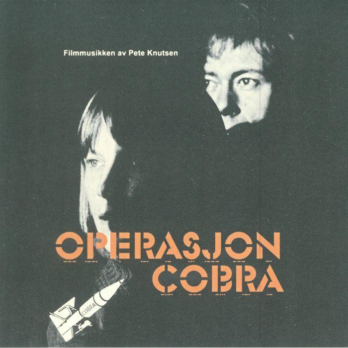 PETE KNUTSEN ORCHESTRA - Operasjon Cobra aka Operation Cobra (Soundtrack)