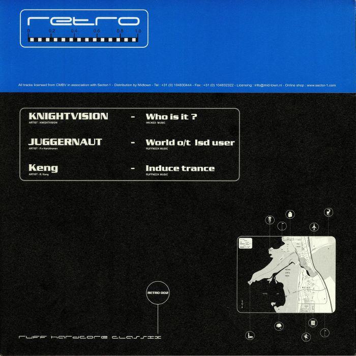 KNIGHTVISION/JUGGERNAUT/KENG/WEDLOCK/PREDATOR/UND ANARCHIST - Ruff Hardcore Classix 02