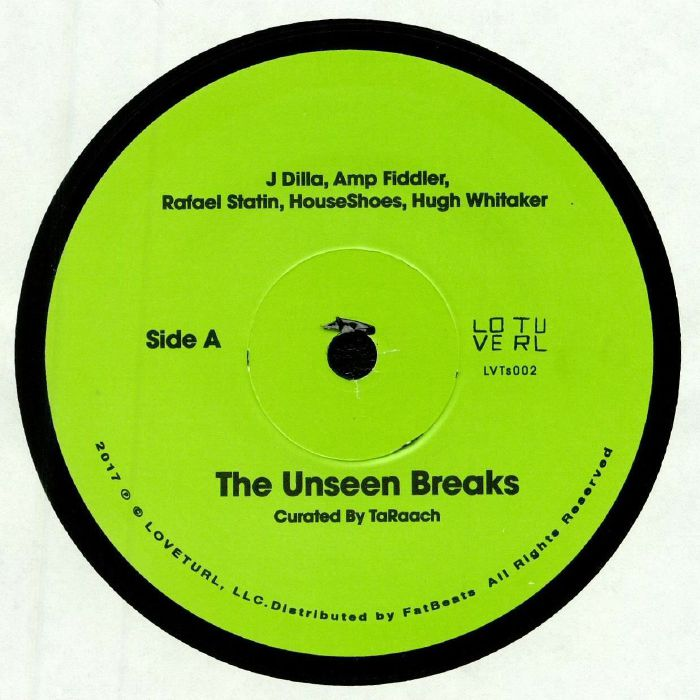 J DILLA/AMP FIDDLER/RAFAEL STATIN/HOUSESHOES/HUGH WHITAKER/QUELLE CHRIS/SLAUTAH/KONPHLICT/DAKIM - The Unseen Breaks