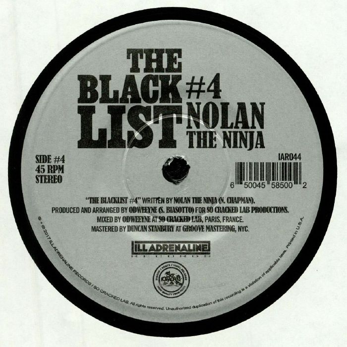 ODWEEYNE/CONWAY/NOLAN THE NINJA - The Blacklist #3