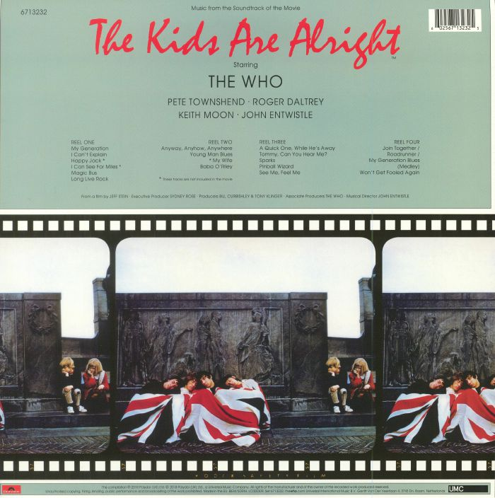 WHO, The - The Kids Are Alright (Soundtrack) (Record Store Day 2018)