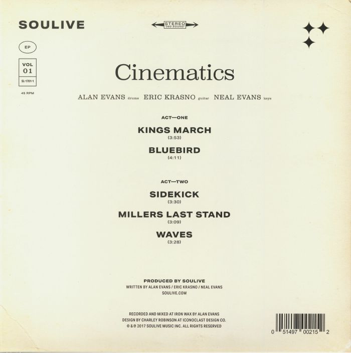 SOULIVE - Cinematics Vol 1