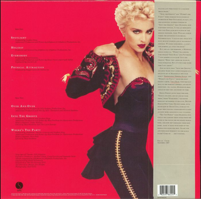 MADONNA - You Can Dance (Record Store Day 2018)