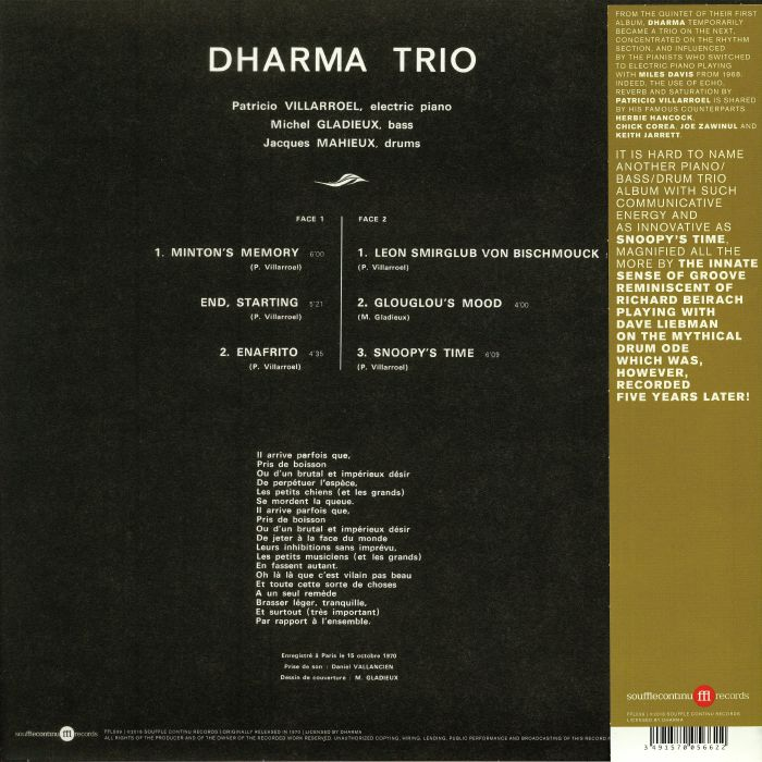 DHARMA TRIO Snoopy s Time vinyl at Juno Records