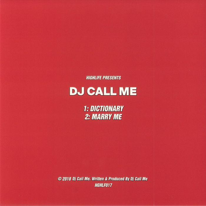 DJ CALL ME - Marry Me