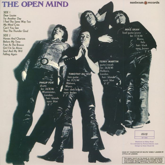 OPEN MIND, The - The Open Mind (Record Store Day 2018)