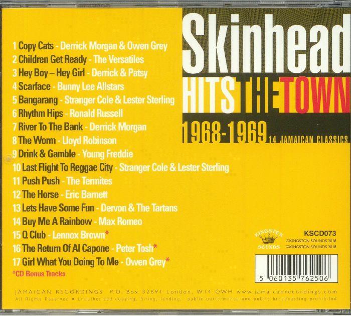 VARIOUS - Skinhead Hits The Town 1968-1969