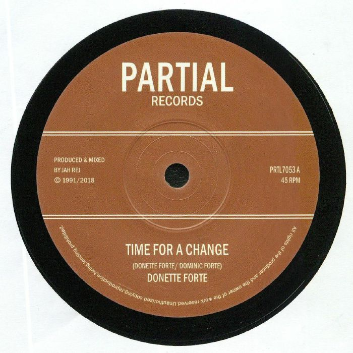 FORTE, Donette/DUB CRUSADERS - Time For A Change