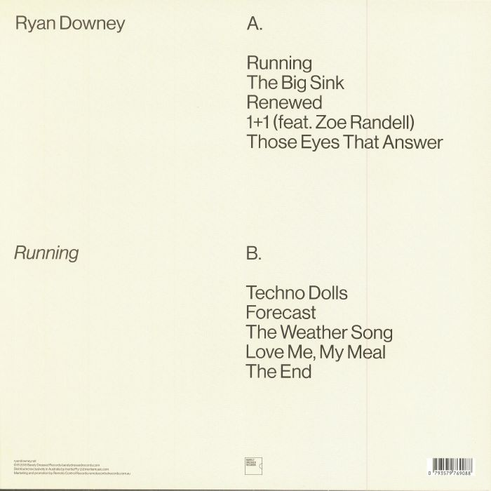 DOWNEY, Ryan - Running