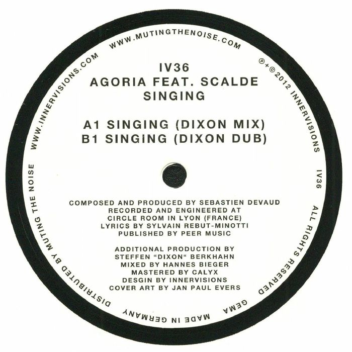 AGORIA feat SCALDE - Singing