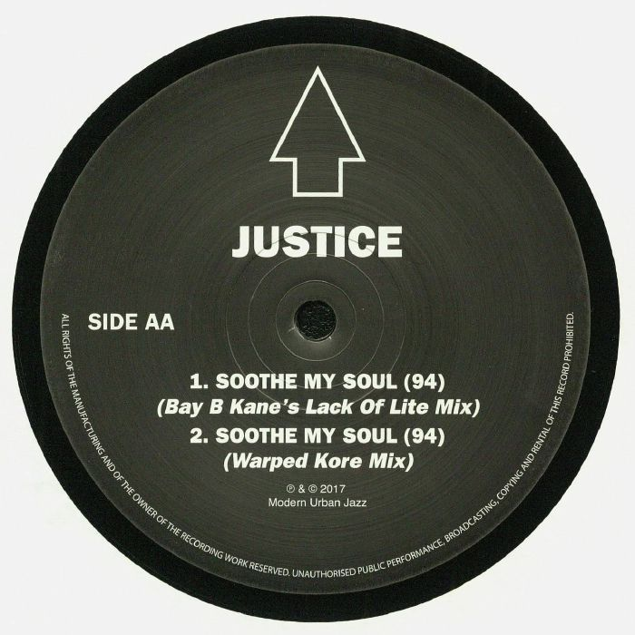 JUSTICE - Soothe My Soul (94) Remixes