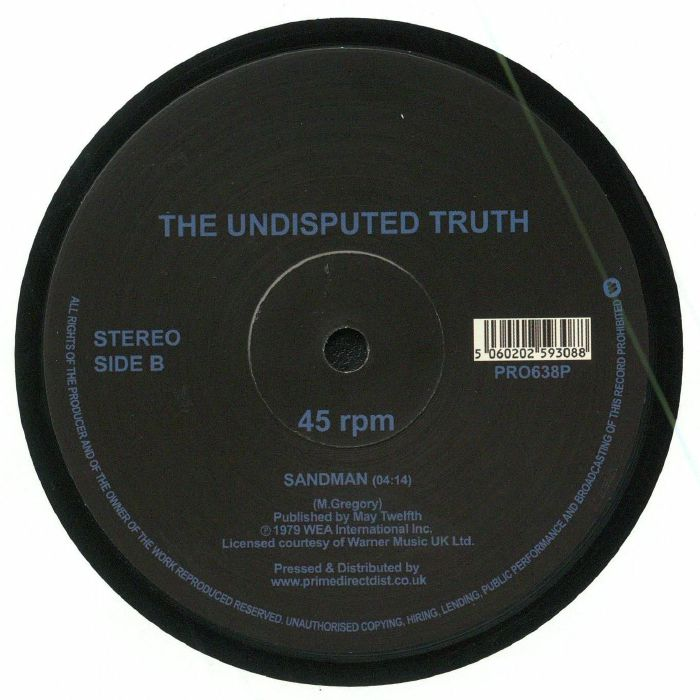 UNDISPUTED TRUTH, The - You Plus Me Equals Love (remastered) (Record Store Day 2018)