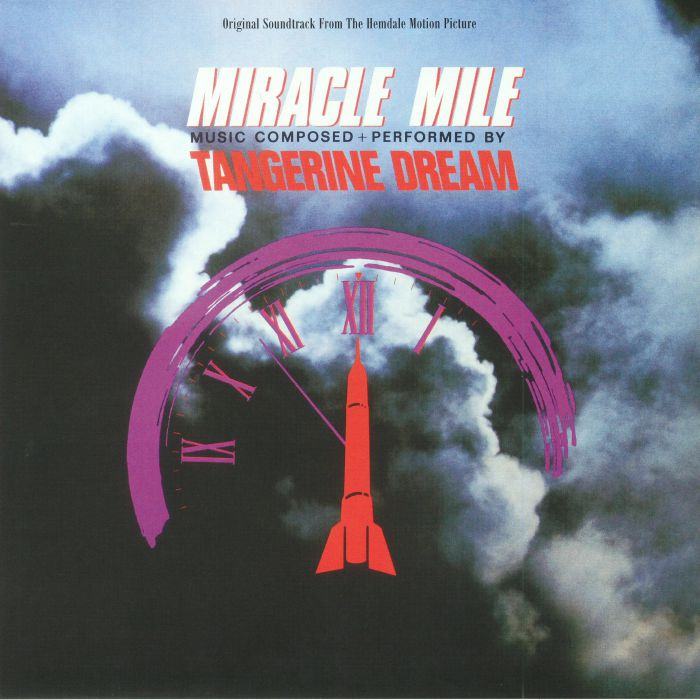TANGERINE DREAM - Miracle Mile (Soundtrack) (Record Store Day 2018)