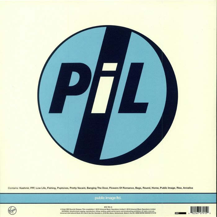 PUBLIC IMAGE LTD - Concert: Live At The Brixton Academy 27/5/86 (Record Store Day 2018)