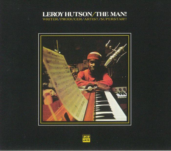 HUTSON, Leroy - The Man! (remastered)