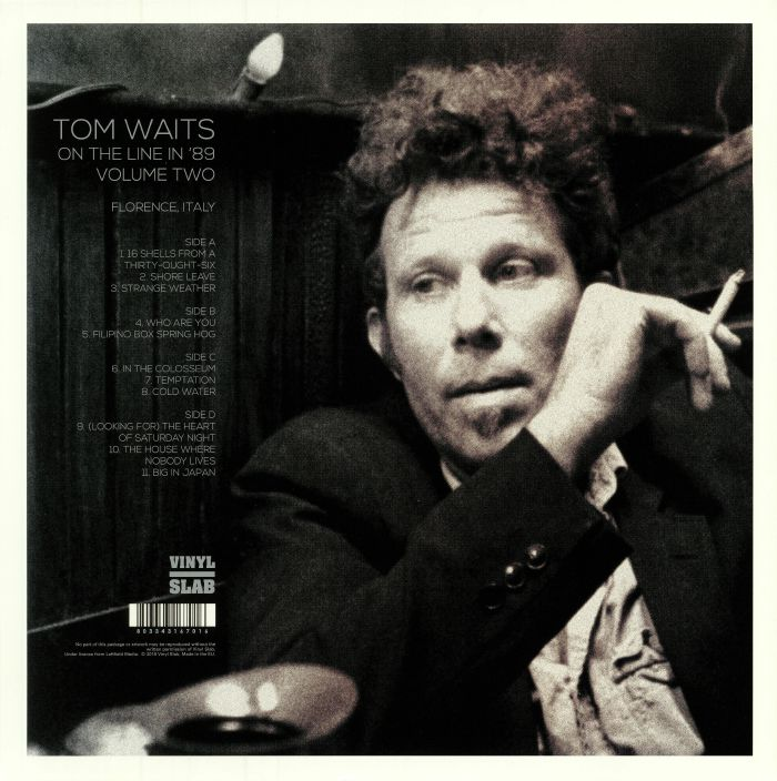 WAITS, Tom - On The Line In '89 Volume Two: Florence Italy
