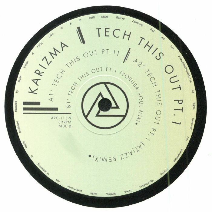 KARIZMA - Tech This Out Pt 1 (Record Store Day 2018)