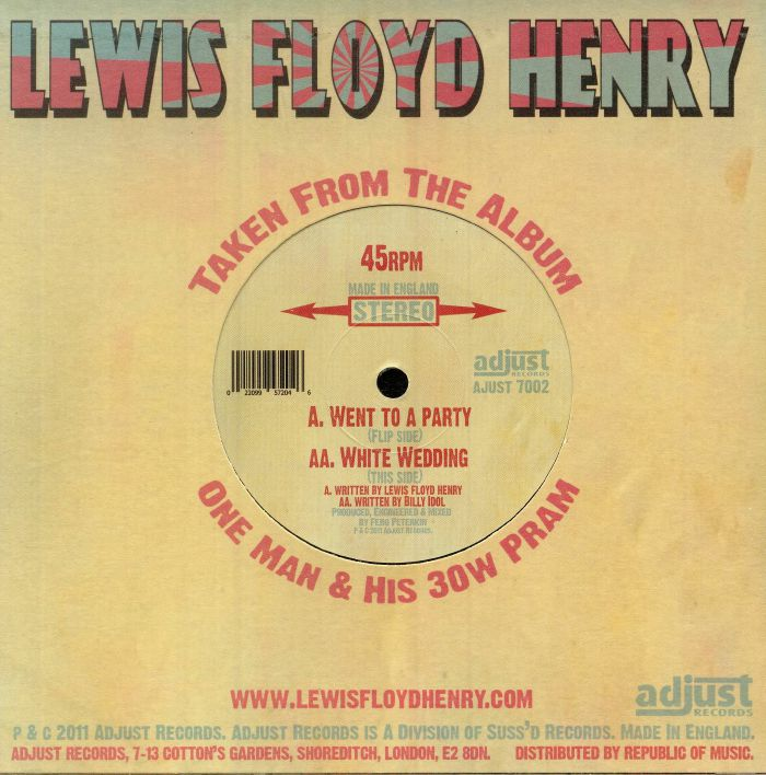 HENRY, Lewis Floyd - Went To A Party