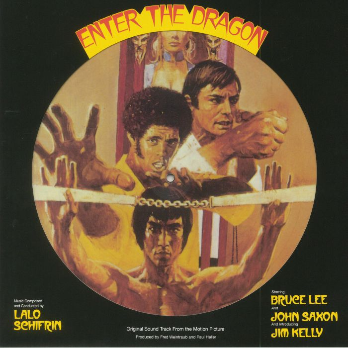 SCHIFRIN, Lalo - Enter The Dragon: 45th Anniversary Edition (Soundtrack) (Record Store Day 2018)