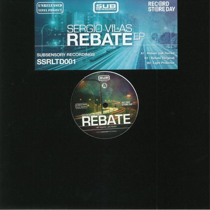 VILAS, Sergio - Rebate EP (Record Store Day 2018)