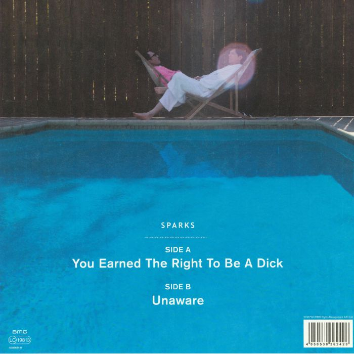 SPARKS - You Earned The Right To Be A Dick (Record Store Day 2018)
