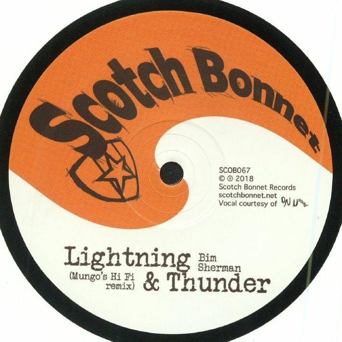 SHERMAN, Bim/MUNGO'S HI FI - Lightning & Thunder (Mungo's Hi Fi remix) (Record Store Day 2018)