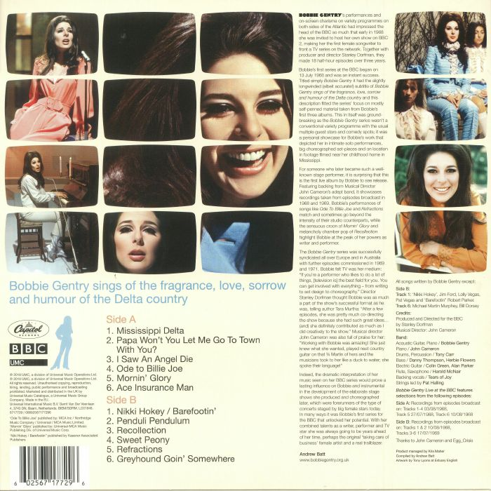 Bobbie Gentry Live At The Bbc Record Store Day 2018