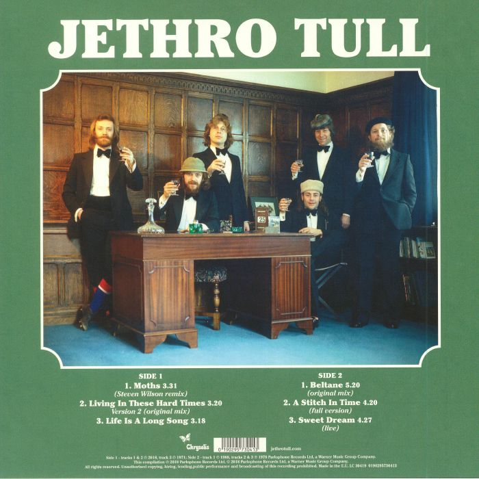 JETHRO TULL - Moths (Record Store Day 2018)
