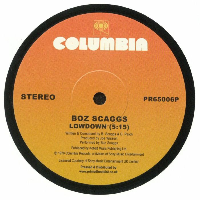 BOZ SCAGGS - Lowdown (Record Store Day 2018)