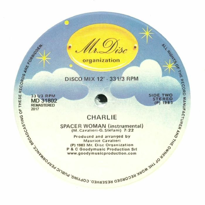 CHARLIE - Spacer Woman (remastered)