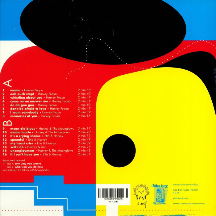 FUQUA, Harvey - Singles Collection