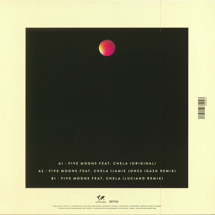 LAZARUS, Damian/THE ANCIENT MOONS feat CHELA - Five Moons