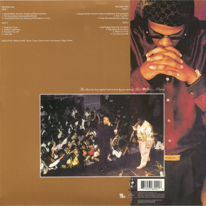 Jay z in my lifetime vol 1 reissue vinyl at juno records jay z in my lifetime vol 1 reissue malvernweather Choice Image