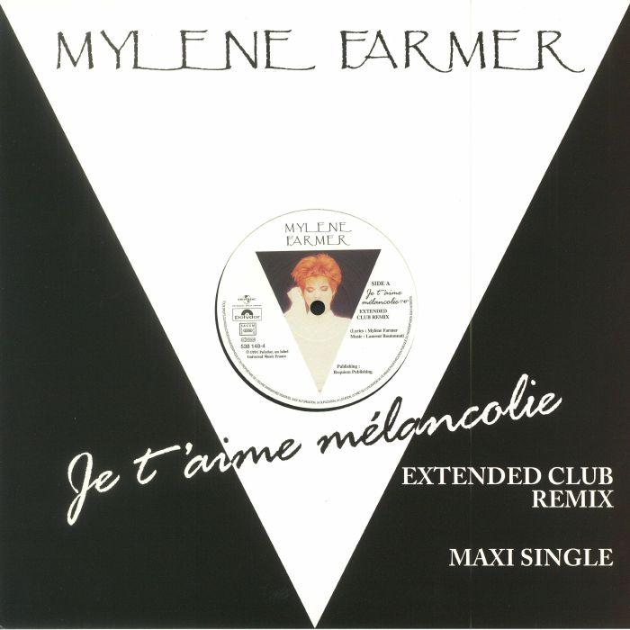 FARMER, Mylene - Je T'Aime Melancolie