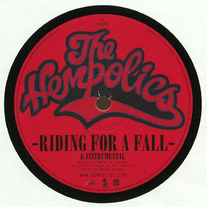 HEMPOLICS, The - Riding For A Fall (Record Store Day 2018)