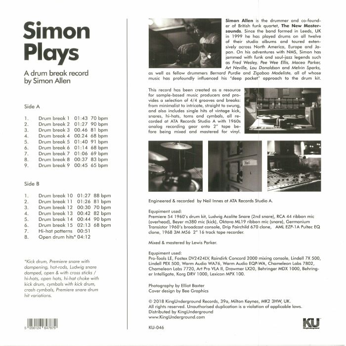 ALLEN, Simon - Simon Plays
