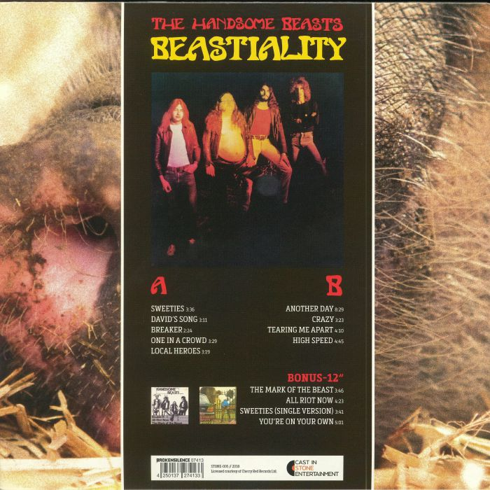 HANDSOME BEASTS, The - Beastiality (Record Store Day 2018)