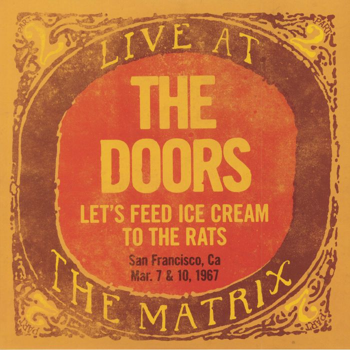 The Doors Live At The Matrix Part Ii San Francisco Ca Mar