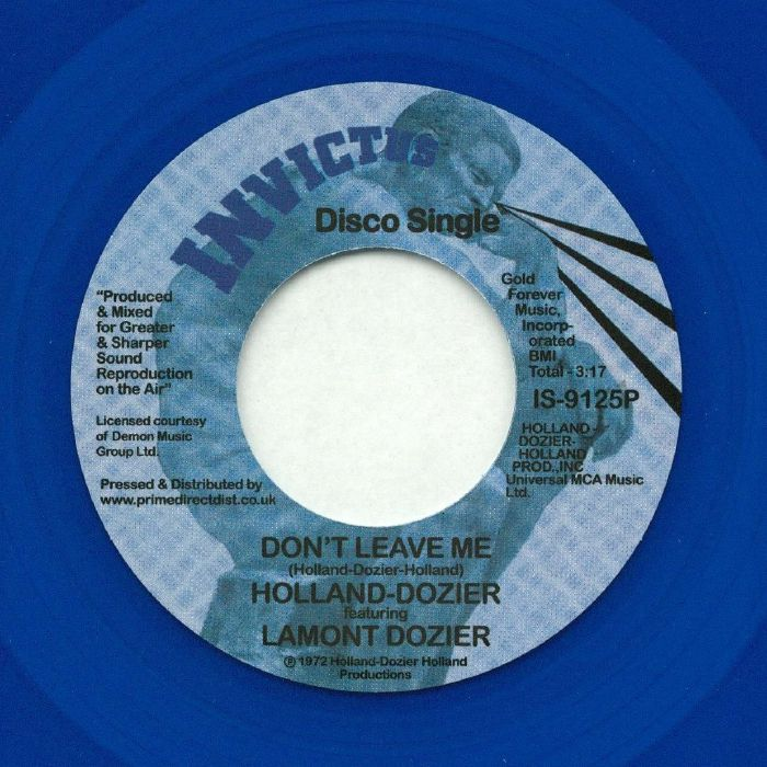 HOLLAND DOZIER HOLLAND feat LAMONT DOZIER - Why Can't We Be Lovers (Record Store Day 2018)