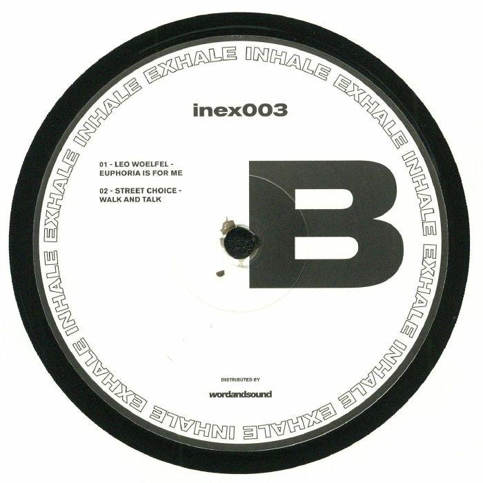 UC BEATZ/PASO/LEO WOELFEL/STREET CHOICE - INEX 003
